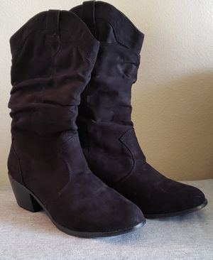 Black Boots 7 for Sale in Boise, ID