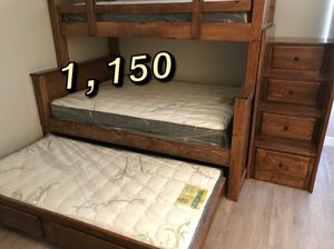 TWIN OVER FULL BUNK BED for Sale in Los Angeles, CA