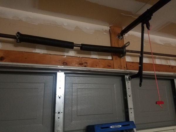 Garage door installs and repairs