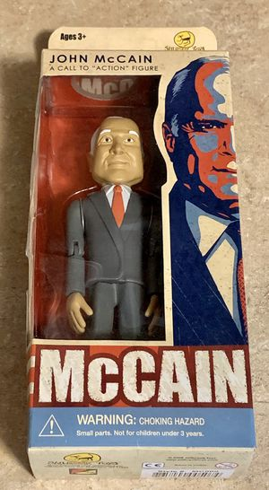Jail Break Toys John McCain A Call To Action Figure New In Box for Sale in North Ridgeville, OH
