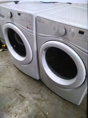 Washer and dryer whirlpool like New for Sale in LAKE CLARKE, FL