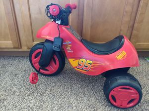 Electric light McQueen bicycle for Sale in Las Vegas, NV