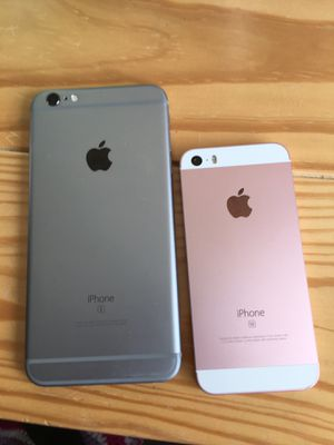 iPhone 6s + and se I WILL TRADE FOR IPHONE 7+ or 8+ for Sale in Sicklerville, NJ