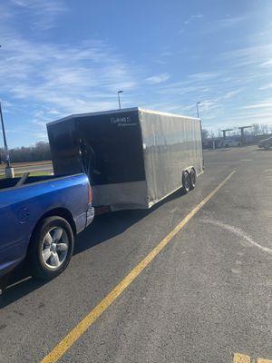 Utility enclosed trailer for Sale in Sanford, FL