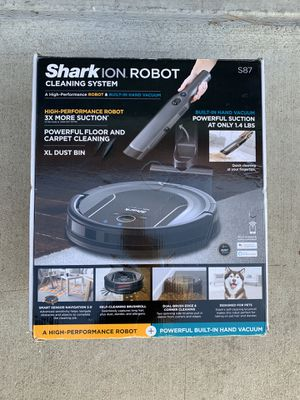 Shark ION Robot Vacuum APP-Controlled with handheld Vacuum S87 for Sale in Chino, CA