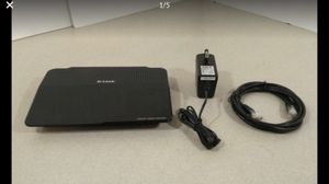 D-Link DIR-657 HD Media Router Adapter & Ethernet Cable USED WORKING for Sale in Orlando, FL