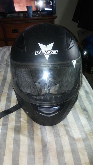Vega black motorcycle helmet large for Sale in Revere, MA