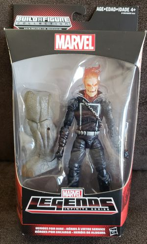 Marvel Legends GHOST RIDER Action Figure Rhino BAF Infinite Series for Sale in San Diego, CA