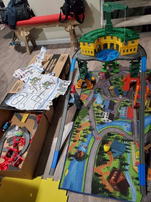Thomas and friends super station with free ABC chair for Sale in West Springfield, VA