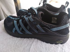 Shoes..NEw...Chaco evo1 hiking shoes.. Brand new. Black&blue color for Sale in Clearwater, FL