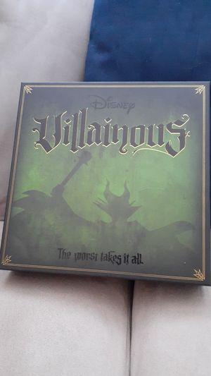 Disney Villainous! Board Game! 10inx10in for Sale in Miami, FL