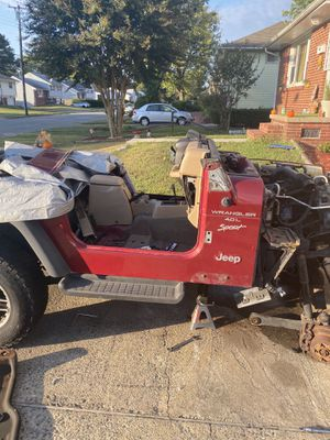 Wrangler Tj tub and parts !!!! for Sale in Hampton, VA