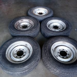 Wheels Ford 16 X 6. Stockstill 8 On 6 ×1/2 Fitts Ford Chevy Dodge for Sale in West Covina, CA