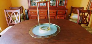 Contemporary Brass / Glass Lighting Fixture for Sale in Centreville, VA
