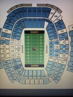 JAGS VS BENGALS CLUB SEATS for Sale in Jacksonville, FL