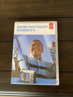 Adobe photoshop elements 9 Mac pc cd key for Sale in Bloomington, CA