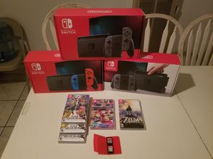 Nintendo switch deals for Sale in San Bernardino, CA