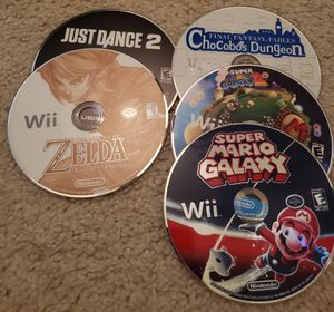5 Wii Games Lot. for Sale in Clarksburg, MD