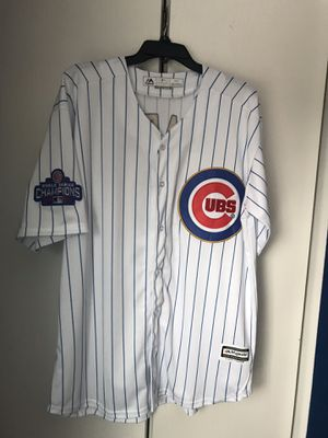 Javier Baez Gold Champions Jersey for Sale in Plainfield, IL