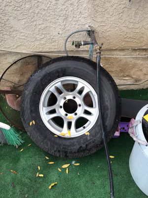 Toy hauler or airstream wheels and tires for Sale in Los Angeles, CA