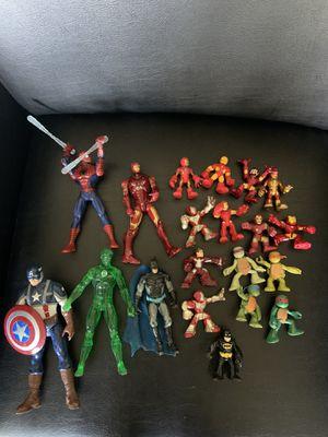 Super heroes action figures for Sale in La Mesa, CA