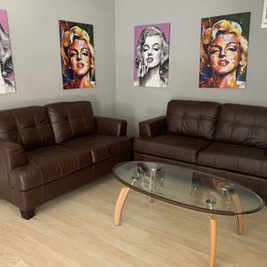 Brown Leather Sofas for Sale in Chino Hills, CA