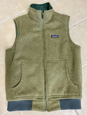 HEAVY STYLE PATAGONIA MENS SIZE M ARMY GREEN VEST for Sale in Phoenix, AZ