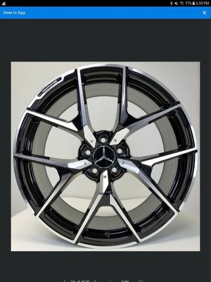 20x8.5 mercedes wheels new in boxes 5 lug 5x112 for Sale in Pembroke Pines, FL
