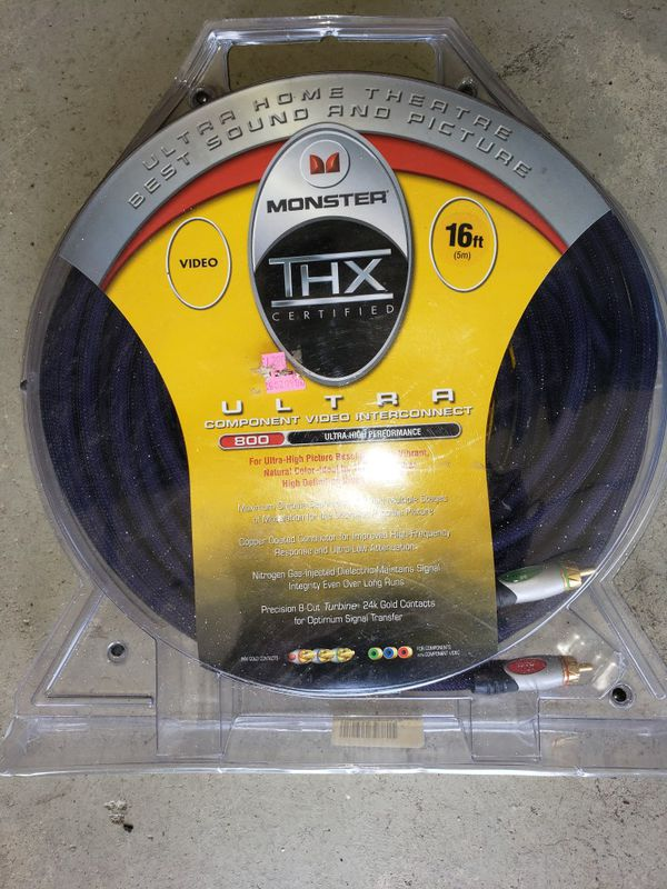 Monster THX 16' component video interconnect