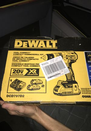 Two Dewalt hammer drill driver's ... (one compact) for Sale in Las Vegas, NV