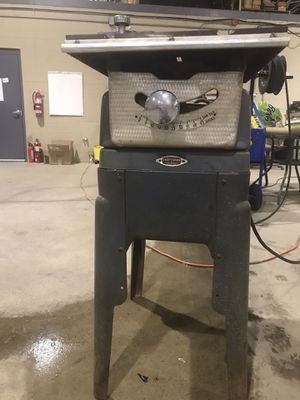 Small vintage craftsman by king seemly table saw 7 1/4 blade for Sale in Amherst, OH