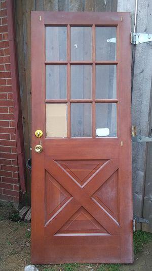 Exterior barn/farm door for Sale in Fort Worth, TX