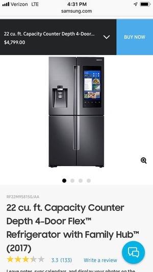Brand new Samsung refrigerator 22cu ft $2500 for Sale in San Francisco, CA