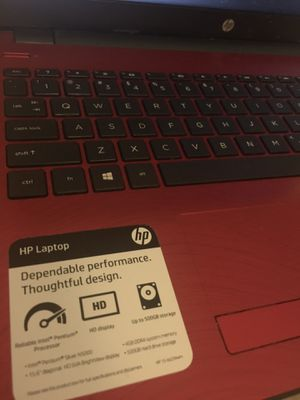 Hp laptop excellent new.. separating frame.. works fine for Sale in Pembroke Pines, FL