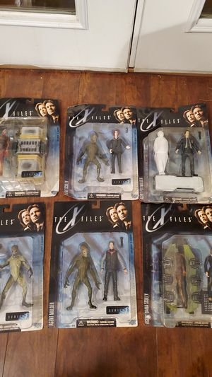 1998 the x files action figures for Sale in Chandler, AZ