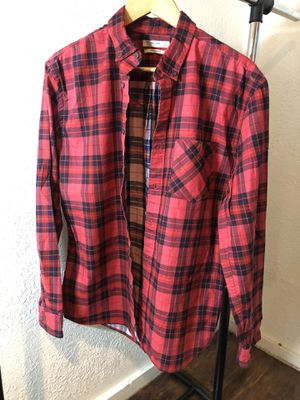 Plaid Red Long Sleeve Shirt size Medium for Sale in Sacramento, CA