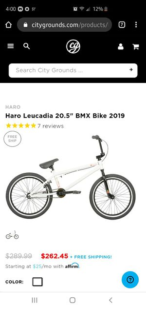 HARO BMX BIKE PRO SERIES for Sale for sale  New York, NY