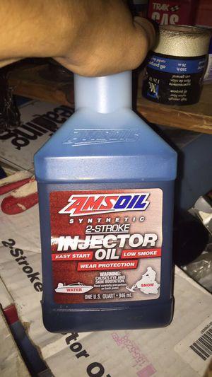 Amsoil 2 stroke mix oil for Sale in Lanham, MD