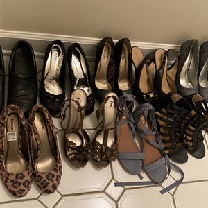 Size 9 Women's Heels ( All Included For The Price) for Sale in Waterbury, CT