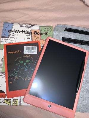 LCD Writing Tablet 10inch PINK for Sale in Meriden, CT