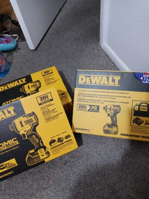 2 20-volt Max lithium-ion brushless impact driver kits & 3 speed kit TODAY ONLY! for Sale in Provo, UT
