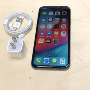 iPhone X 64GB Factory Unlocked-Space Grey for Sale in Hoboken, NY