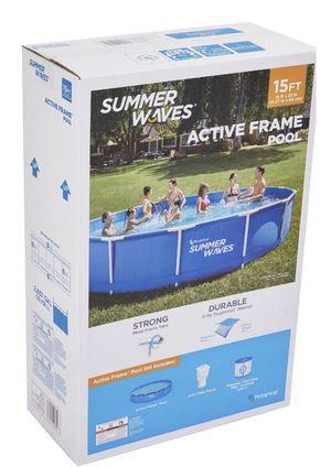 Summer Waves 15 ft Active Metal frame Pool for Sale in Brandon, FL