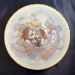 Julian Ritter Clown Plate, Gorham China Collectible Plate, 1977 Falling in Love Limited Edition Collectors Plate for Sale in Hialeah, FL
