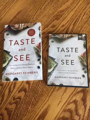Taste and See DVD and Study Book for Sale in Troutdale, OR