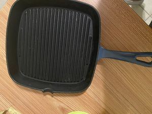 Cuisinart Chef's Classic Enameled Cast Grill Iron for Sale in Harker Heights, TX