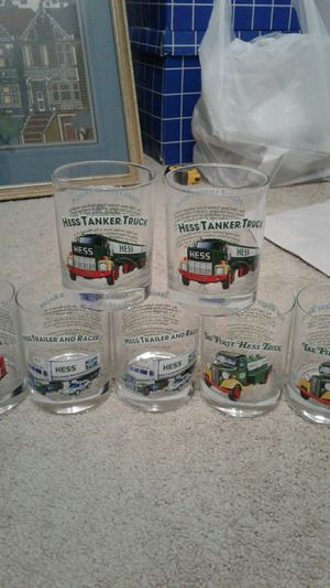 7 Hess collectable glasses for Sale in Charlotte, NC