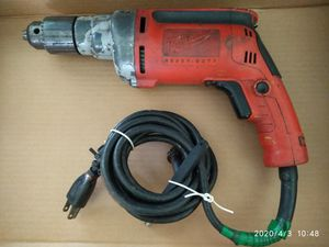 Milwaukee Magnum heavy duty drill for Sale in Pompano Beach, FL