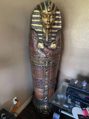 King Tut storage w matching mini and wall piece for Sale in Las Vegas, NV
