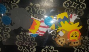 Circus cup cake toppers for Sale in San Antonio, TX